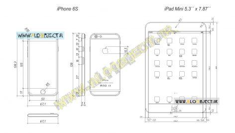 بلاک اتوکد iPad Mini – iPhone 6S